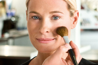 makeup service in facial service page at make up coloum